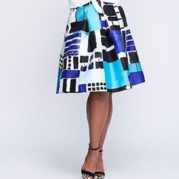 37bcab86d8 Lane Bryant Dresses & Skirts - Lane Bryant Box Pleated Circle Skirt Plus  Size 18